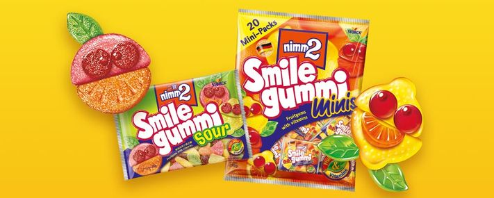 Introducing Smilegummi Sour & Minis